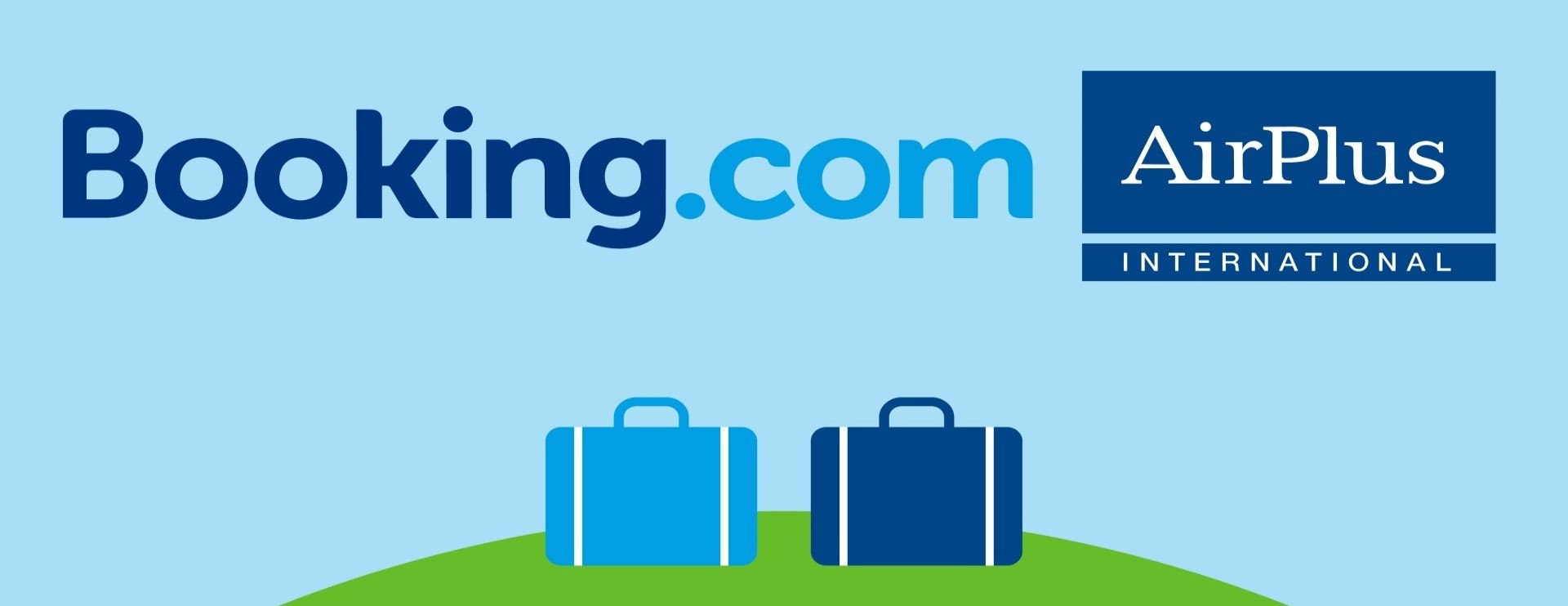 Booking.com in zee met AirPlus