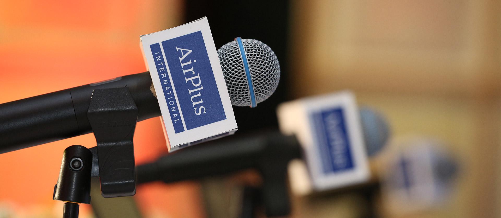 德国嘉惠国际-媒体见面会背景板
