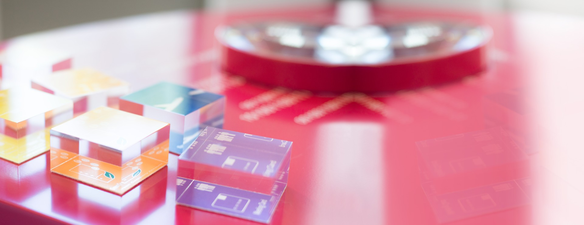 Tavolo con prodotti AirPlus