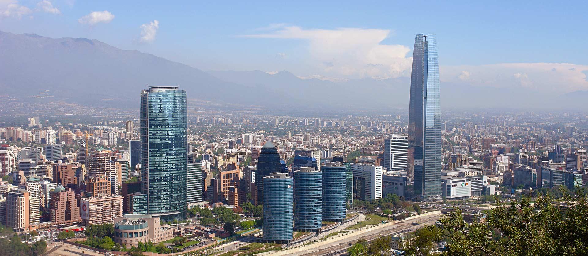 Santiago de Chile panorámica