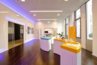 Ansicht AirPlus Showroom