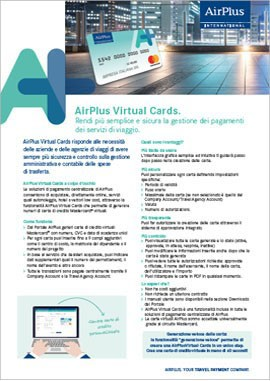 brochure airplus virtual card