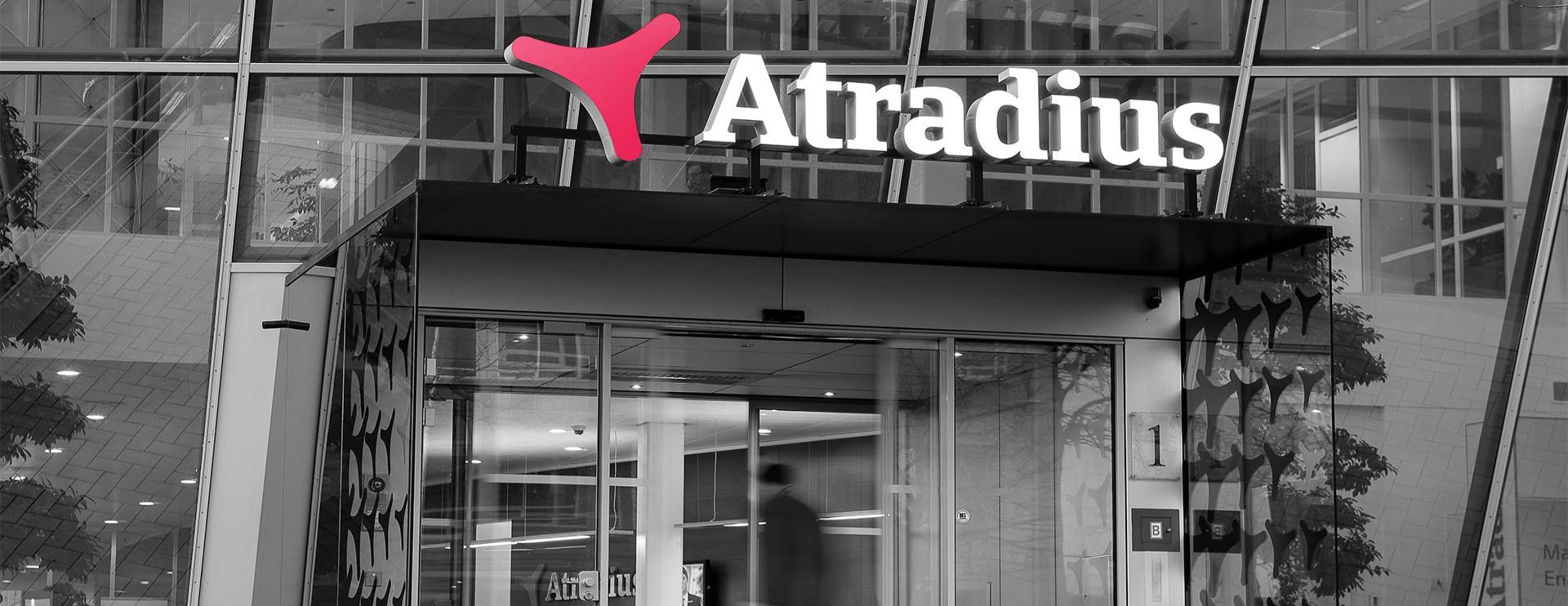 Entrance of Atradius offices